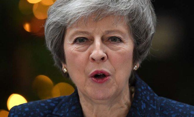 Theresa May won