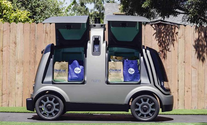 Self Driving Delivery Vans