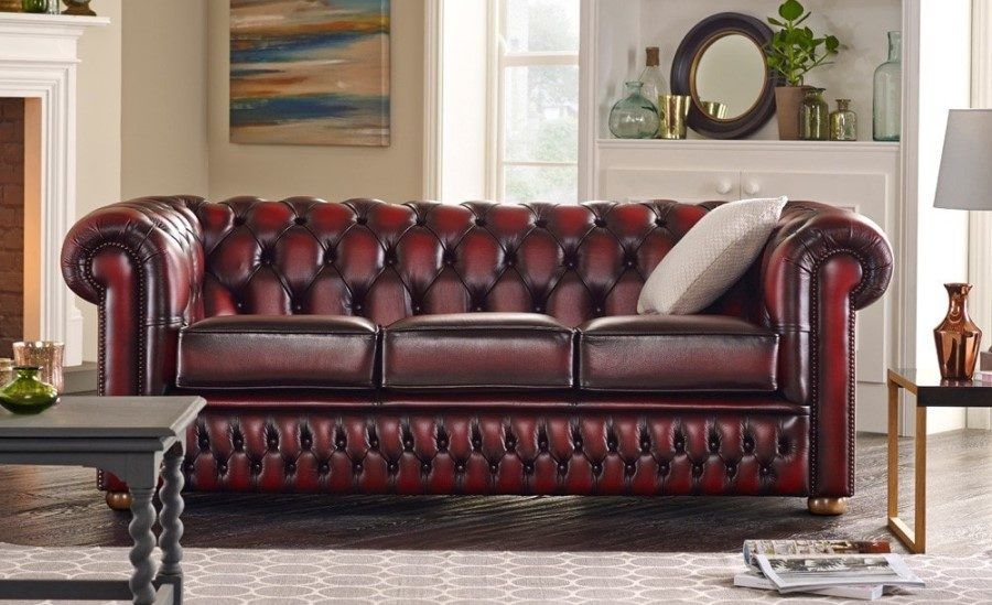 How to Take the Best Care of Your Leather Chesterfield Sofas ...