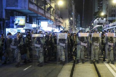 Chinese authority criticizes demonstrations in Hong Kong