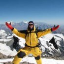 climber conquer Mount Everest