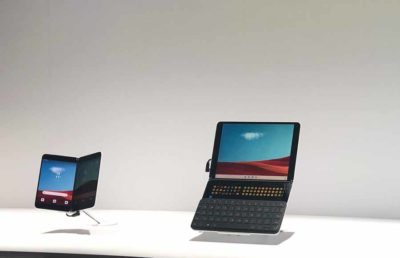 Images of Windows 10X leaked onto Surface Neo