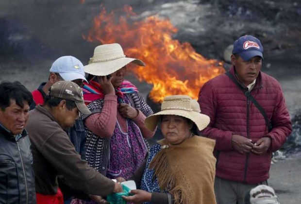 At least three people killed in riots in Bolivia