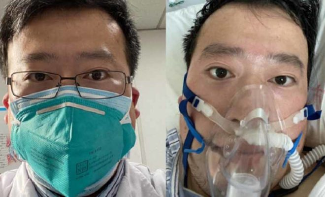 Chinese doctor who warned for coronavirus is now in intensive care