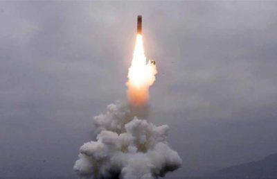 North Korea resumes missile testing