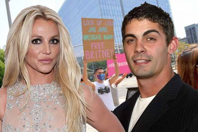 Britney Spears with Ex Husband